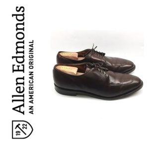 Allen Edmonds Delray in dark brown. Size 11.5D